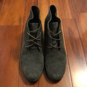 Michael Sage Green Booties